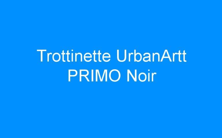 Trottinette UrbanArtt PRIMO Noir