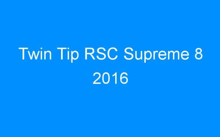 Twin Tip RSC Supreme 8 2016