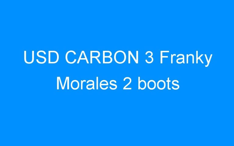 USD CARBON 3 Franky Morales 2 boots