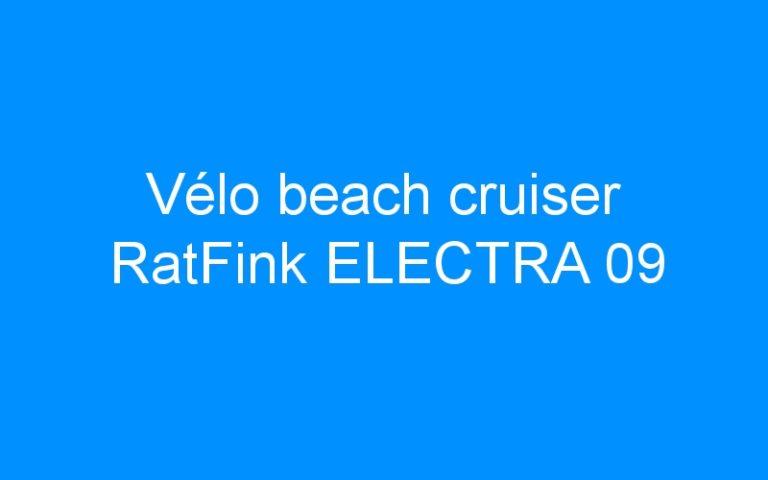 Vélo beach cruiser RatFink ELECTRA 09