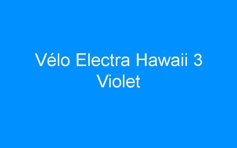 Vélo Electra Hawaii 3 Violet