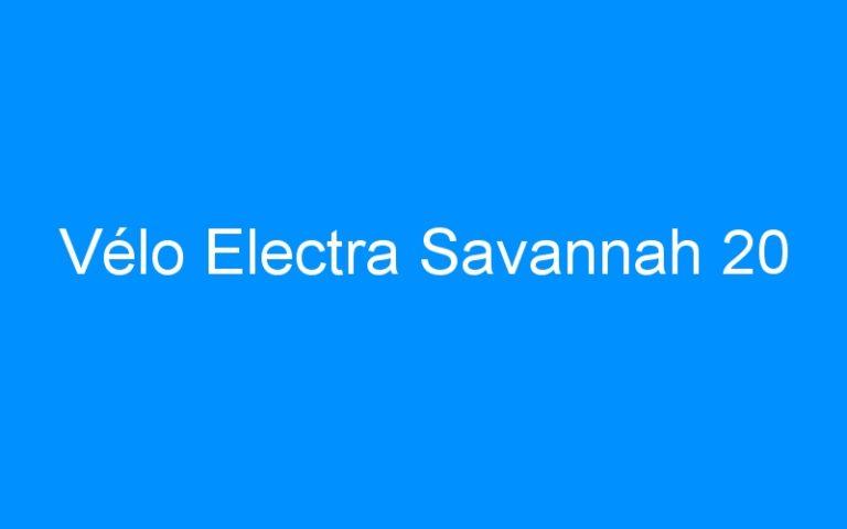 Vélo Electra Savannah 20