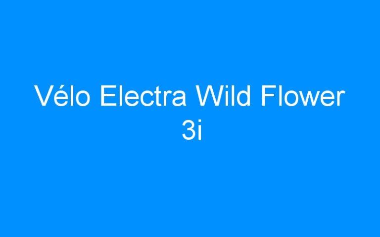 Vélo Electra Wild Flower 3i