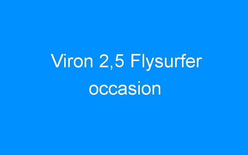 Viron 2,5 Flysurfer occasion