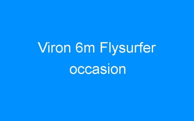 Viron 6m Flysurfer occasion