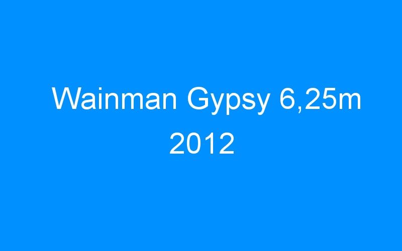 Wainman Gypsy 6,25m 2012