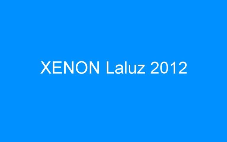 XENON Laluz 2012