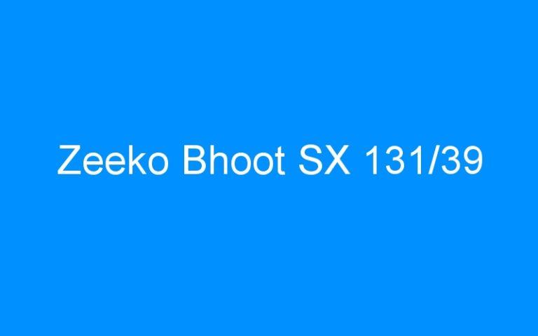 Zeeko Bhoot SX 131/39