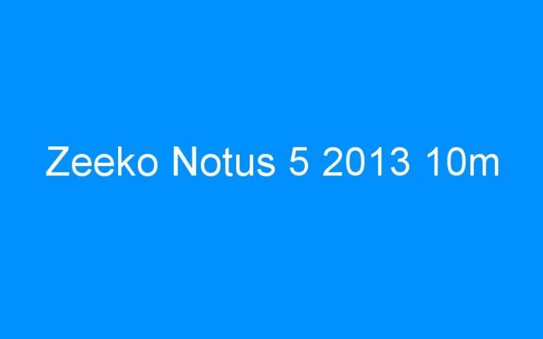 Zeeko Notus 5 2013 10m