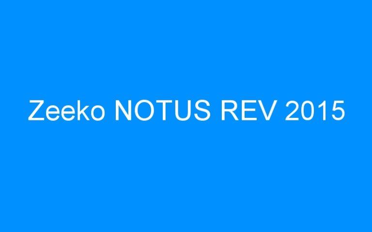 Zeeko NOTUS REV 2015